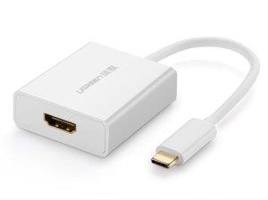 مبدل تایپ سی به اچ دی ام آی یوگرین Ugreen 40273 Type-C to HDMI Adapter
