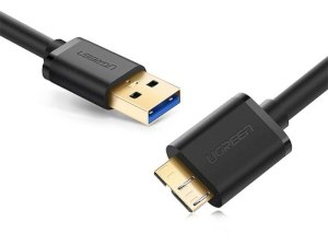 کابل یو اس بی به میکرو یو اس بی یوگرین Ugreen USB 3.0 to Micro USB Cable 0.5M
