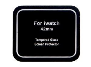 محافظ صفحه نمایش شیشه ای اپل واچ Coteetci Glass 0.1mm Slimmest Apple Watch 42mm