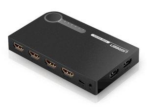 سوییچ پنج پورت اچ دی ام آی یوگرین Ugreen 40205 HDMI 5x1 Switch
