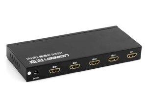 سوییچ چهار پورت اچ دی ام آی یوگرین Ugreen 40202 1x4 HDMI Amplifier Splitter