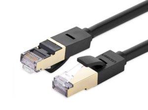 کابل شبکه یوگرین Ugreen NW107 11268 Cat 7 STP LAN Cable 1M