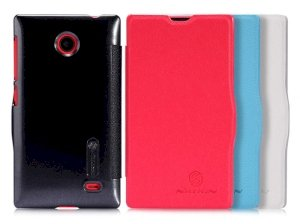 کیف چرمی نیلکین نوکیا Nillkin Fresh Case Nokia X