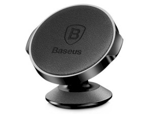 پایه نگهدارنده آهن ربایی بیسوس Baseus Small Ears Series Magnetic Suction Bracket Leather Type
