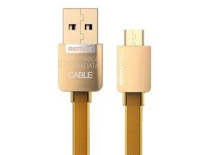 کابل شارژ و انتقال داده میکرو یو اس بی ریمکس Remax Gold Safe & Speed Micro USB
