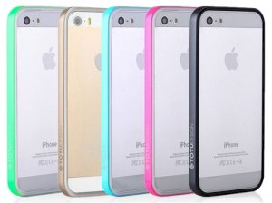 بامپر توتو آیفون Totu TPU/PC Bumper Apple iPhone 5/5S/SE