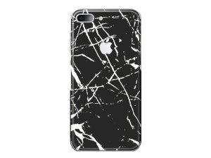 برچسب محافظ طرح دار راک آیفون Rock Black Marble Creative Protector Apple iPhone 7 Plus