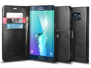 کیف اسپیگن سامسونگ Spigen Wallet S Case Samsung Galaxy S6 Edge Plus