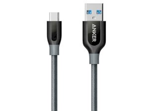 کابل شارژ و انتقال داده تایپ سی انکر Anker Power Line+ USB-C To USB 3.0 A8168