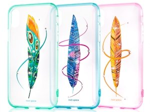 قاب محافظ راک آیفون Rock Feather Series Case Apple iPhone X