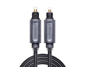 کابل انتقال صدا نوری یوگرین Ugreen AV122 Toslink Optical Audio Cable 3M