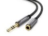 کابل افزایش طول صدا یوگرین Ugreen AV118 3.5mm Male To 3.5mm Female Extension Cable 5M
