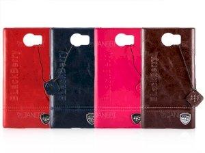 قاب محافظ چرمی بلک بری BlackBerry Priv Leather Case