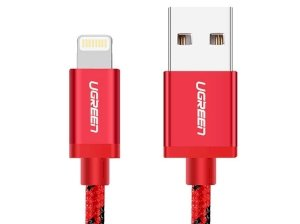 کابل لایتنینگ به یو اس بی یوگرین Ugreen MFi Lightning Cable 2M