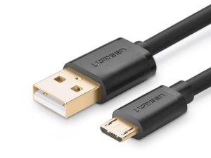 کابل شارژ و انتقال داده یو اس بی به میکرو یو اس بی یوگرین Ugreen US125 Micro USB Male to USB Male Cable 1M