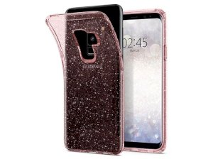 محافظ ژله ای اسپیگن سامسونگ Spigen Liquid Crystal Glitter Case Samsung Galaxy S9 Plus