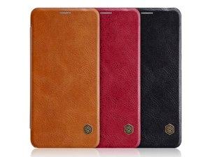 کیف چرمی نیلکین هواوی Nillkin Qin Leather Case Huawei Mate 10 Lite