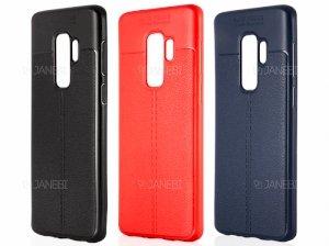 قاب ژله ای طرح چرم سامسونگ Auto Focus Jelly Case Samsung Galaxy S9 Plus