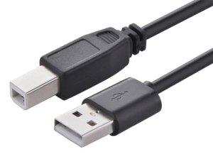 کابل پرینتر یوگرین Ugreen USB 2.0 AM To BM Cable 2M