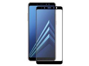 محافظ صفحه نمایش شیشه ای تمام چسب سامسونگ Full Glass Samsung Galaxy A8 Plus 2018