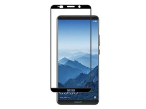 محافظ صفحه نمایش شیشه ای تمام چسب هواوی Full Glass Screen Protector Huawei Mate 10 Pro