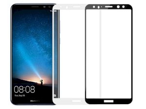 محافظ صفحه نمایش شیشه ای تمام چسب هواوی Full Glass Screen Protector Huawei Mate 10 Lite