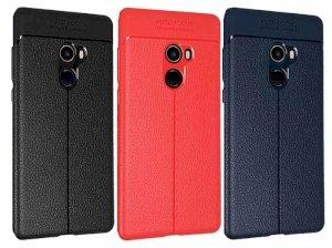 قاب ژله ای طرح چرم شیائومی Auto Focus Jelly Case Xiaomi Mi Mix 2