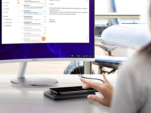DeX pad سامسونگ در تاریخ 23 اردیبهشت به قیمت 99.99 دلار عرضه می شود