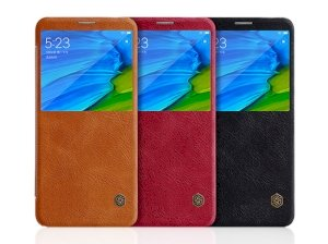 کیف چرمی نیلکین شیائومی Nillkin Qin Leather Case Xiaomi Redmi Note 5 Pro