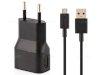 شارژر و کابل اصلی بلک بری Blackberry 3062 Travel Charger Adapter 1.3A Micro USB Cable