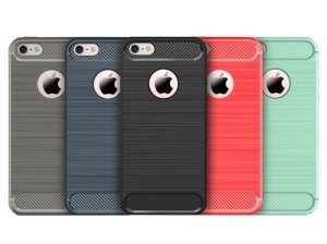 محافظ ژله ای آیفون Carbon Fibre Case Apple iPhone 5/5S/SE
