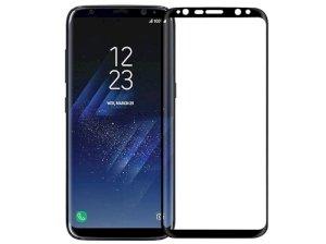 محافظ صفحه نمایش شیشه ای تمام چسب سامسونگ Full Glass Screen Protector Samsung Galaxy S8 Plus