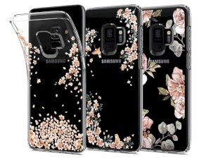 قاب محافظ اسپیگن Spigen Liquid Crystal Blossom Case Galaxy S9
