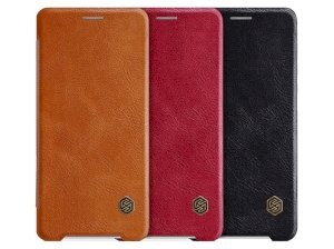 کیف چرمی نیلکین سونی Nillkin Qin leather Case Sony Xperia XZ2