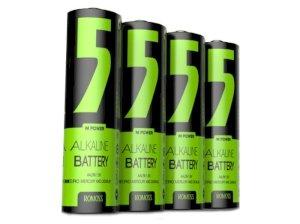 باتری قلمی روموس پک 4 تایی Romoss Alkaline AA Battery 5M Power