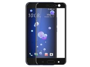 محافظ صفحه نمایش شیشه ای اچ تی سی Full Glass Screen Protector HTC U11