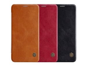 کیف چرمی نیلکین سامسونگ Nillkin Qin Leather Case Samsung Galaxy A6 Plus 2018