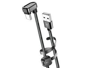 کابل شارژ تایپ سی راک Rock U-Shaped Metal Type-C Cable 1M