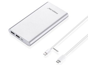 پاور بانک پاوراد Poweradd Pilot 2GS MP-131003SL 10000mAh Power Bank With Lightning Cable
