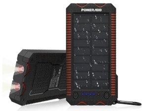 پاور بانک خورشیدی پاوراد Poweradd Apollo 2 12000mAh Power Bank