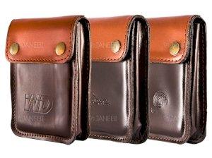 کیف محافظ چرمی هارد Hard Disk Drive Leather Bag