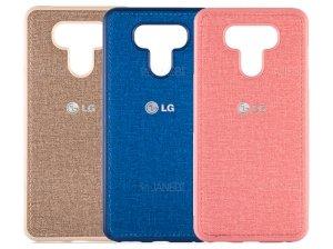 قاب محافظ طرح پارچه ای ال جی Protective Cover LG G6
