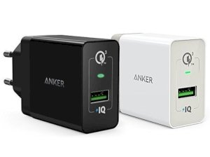 شارژر دیواری سریع انکر Anker Wall Charger PowerPort+ 1 Quick Charge 3.0