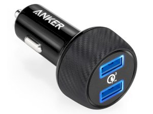 شارژر فندکی سریع انکر Anker PowerDrive Speed 2 Port Car Charger