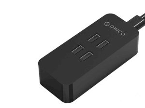 پاور هاب 4 پورت اوریکو Orcio 4 Port USB Smart Desktop Charger DCV-4U