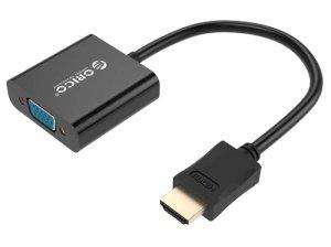 مبدل اچ دی ام آی به وی جی ای اوریکو Orico HDMI to VGA Adapter DHTV-C20