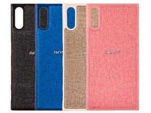 قاب محافظ طرح پارچه ای سونی Protective Cover Sony Xperia XZ