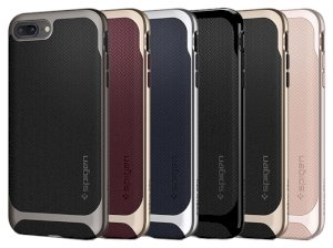 قاب محافظ اسپیگن آیفون Spigen Neo Hybrid Herringbone Case Apple iPhone 8 Plus/7 Plus