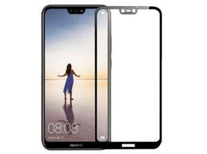 محافظ صفحه نمایش شیشه ای تمام چسب هواوی Full Glass Screen Protector Huawei P20 Lite/ Nova 3e