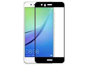 محافظ صفحه نمایش شیشه ای تمام چسب هواوی Full Glass Screen Protector Huawei Nova 2 Plus